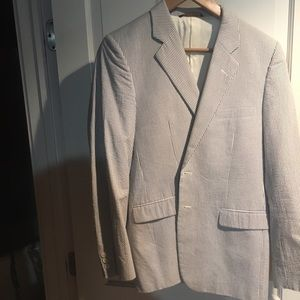 Brooks Brothers seersucker sports jacket